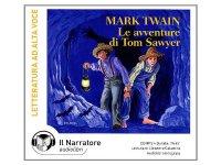 CD オーディオブック マーク・トウェインの「トム・ソーヤーの冒険」  【A1】【A2】【B1】【B2】