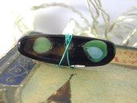 シンプルな装いにぴったり リング・指輪 【カラー・ブラック】【カラー・グリーン】