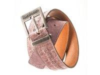 Il Centimetroのメンズベルト Cintura OldWest Plum【ピンク】【パープル】