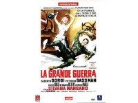 イタリア語で観るイタリア映画 アルベルト・ソルディ 「La Grande Guerra」2枚組 DVD  【B2】【C1】