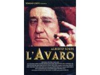 イタリア語で観るイタリア映画 アルベルト・ソルディ 「L' Avaro」 DVD  【B2】【C1】