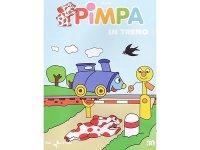 イタリア語で観るイタリアのアニメ映画 ピンパ「Pimpa in treno」 DVD【A1】【A2】【B1】【B2】
