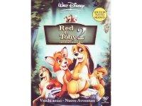 イタリア語などで観るディズニーの「きつねと猟犬2 トッドとコッパーの大冒険」 DVD 【A2】【B1】