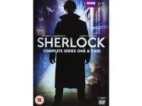 英語で観るベネディクト・カンバーバッチの「SHERLOCK(シャーロック)」 DVD 4枚組 【B2】【C1】