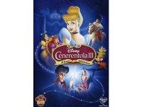 イタリア語などで観るディズニーの「シンデレラIII 戻された時計の針」 DVD【A2】【B1】