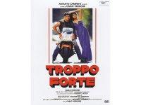 イタリア語で観るイタリア映画 アルベルト・ソルディ&カルロ・ヴェルドーネ 「Troppo Forte」 DVD  【B2】【C1】