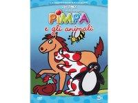 イタリア語で観るイタリアのアニメ映画 ピンパ「Le nuove avventure - Pimpa e gli animali」 DVD【A1】【A2】【B1】【B2】