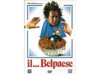 イタリアのコメディ映画Paolo Villaggio 「Il Belpaese」DVD 【A1】【A2】【B1】