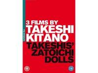 日本語&英語で観る、 北野武の「Dolls」「 座頭市」「TAKESHIS'」 DVD
