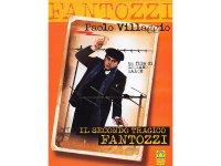 イタリアのコメディ映画Paolo Villaggio 「Il Secondo Tragico Fantozzi」DVD 【A1】【A2】【B1】