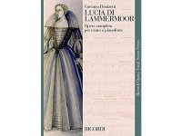 楽譜 LUCIA DI LAMMERMOOR - Ricordi Opera Vocal Series - DONIZETTI - RICORDI