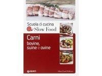 スローフード・スクール イタリア語で学ぶ牛肉、豚肉、羊肉の調理本 【B2】