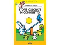 イタリア語で絵本、ピンパを読む Storie colorate di Coniglietto. Gli amici di Pimpa 対象年齢5歳以上【A1】