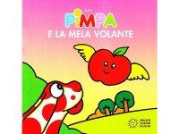 イタリア語で絵本、ピンパを読む Pimpa e la mela volante 対象年齢1歳以上【A1】
