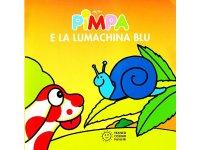イタリア語で絵本、ピンパを読む Pimpa e la lumachina blu 対象年齢1歳以上【A1】