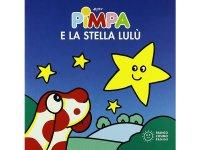 イタリア語で絵本、ピンパを読む Pimpa e la stella Lulu' 対象年齢1歳以上【A1】