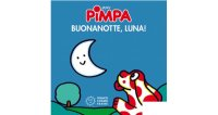 イタリア語で絵本、ピンパを読む Pimpa. Buona notte, luna! 対象年齢0歳以上【A1】