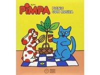 イタリア語で絵本、ピンパを読む Pimpa. Picnic con Rosita 対象年齢3歳以上【A1】