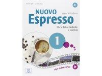 イタリア語を勉強しよう Nuovo Espresso 1 DVD ROM付き教科書、問題集、文法テキスト 【A1】