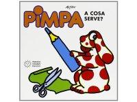 イタリア語で絵本、ピンパを読む Pimpa: a cosa serve? 対象年齢3歳以上【A1】