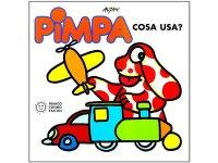 イタリア語で絵本、ピンパを読む Pimpa: cosa usa? 対象年齢3歳以上【A1】