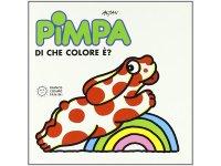 イタリア語で絵本、ピンパを読む Pimpa: di che colore e'? 対象年齢3歳以上【A1】