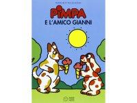 イタリア語で絵本、ピンパを読む Pimpa e l'amico Gianni 対象年齢5歳以上【A1】