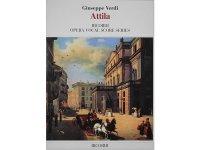 楽譜 ATTILA - VERDI - OPERA VOCAL SCORE SERIES- RICORDI