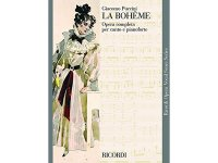 楽譜 LA BOHEME - Ricordi Opera Vocal Series - PUCCINI - RICORDI
