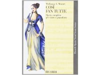 楽譜 COSI' FAN TUTTE - Ricordi Opera Vocal Series - MOZART - RICORDI