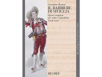 楽譜 IL BARBIERE DI SIVIGLIA - THE BARBER OF SEVILLE - Ricordi Opera Vocal Series - ROSSINI - RICORDI