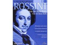 楽譜 CANTOLOPERA - ARIE PER BASSO BUFFO - ROSSINI CD付き - RICORDI