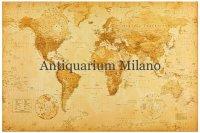 アンティーク風世界地図 マップ 91 x 61 cm
