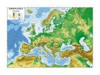 ヨーロッパ マップ 100 x 140 cm