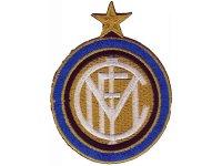 イタリア 刺繍ワッペン INTER  【カラー・ホワイト】【カラー・ブラック】【カラー・ブルー】【カラー・イエロー】