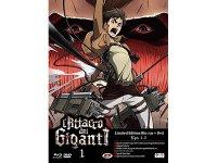イタリア語などで観る、諫山創の「進撃の巨人」#01(1-5話)Blu-Ray+DVD 【B1】