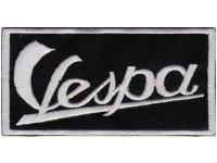 イタリア 刺繍ワッペン Vespa 【カラー・ホワイト】【カラー・ブラック】