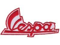 イタリア 刺繍ワッペン Vespa 【カラー・ホワイト】【カラー・レッド】