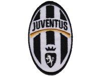 イタリア 刺繍ワッペン JUVENTUS  【カラー・ホワイト】【カラー・ブラック】