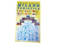 ミラノ シティマップ ポケットサイズで便利! 地下鉄・バス・トラム路線付き 【カラー・イエロー】 【A1】