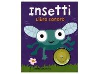 イタリア語で読む、音が出る絵本 虫 対象年齢1歳以上 【A1】