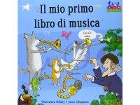 イタリア語で読む、絵本 CD付き初めての音楽 【A1】