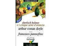 CD オーディオブック アーサー・コナン・ドイル  シャーロック・ホームズシリーズ オレンジの種五つ【B2】【C1】