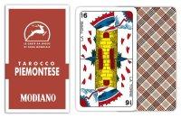 MODIANO ピエモンテーゼ・タロット Tarocco Piemontese 84【カラー・マルチ】