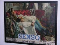 イタリア 映画 アンティークポスター Senso (1954年) 夏の嵐 ルキノ・ヴィスコンティ アリダヴァリ 30 x 50 cm