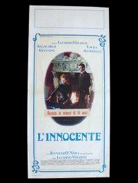 イタリア 映画 アンティークポスター L'innocente (1976年) イノセント ルキノ・ヴィスコンティ 33 x 70 cm locandine