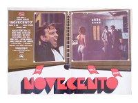 イタリア 映画 アンティークポスター Novecento (1976年) 1900年  ベルナルド・ベルトルッチ 50 x 70 cm FOTO BUSTE