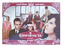 イタリア 映画 アンティークポスター Il conformista (1970年) 暗殺の森  ベルナルド・ベルトルッチ 50 x 70 cm FOTO BUSTE