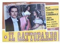 イタリア 映画 アンティークポスター Il gattopardo (1963年) 山猫 ルキノ・ヴィスコンティ 50 x 70 cm FOTO BUSTE