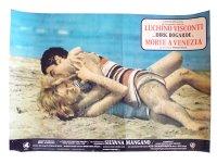 イタリア 映画 アンティークポスター La morte a Venezia (1971) ベニスに死す ルキノ・ヴィスコンティ 50 x 70 cm FOTO BUSTE